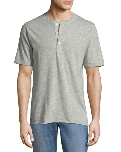 Hunter Short-Sleeve Henley Shirt