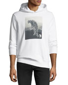Snow Leopard Graphic Hoodie