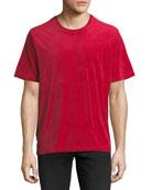 Velour Cotton T-Shirt