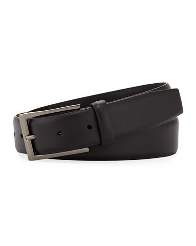 7cd867bc Ermenegildo Zegna Leather Belt | Neiman Marcus