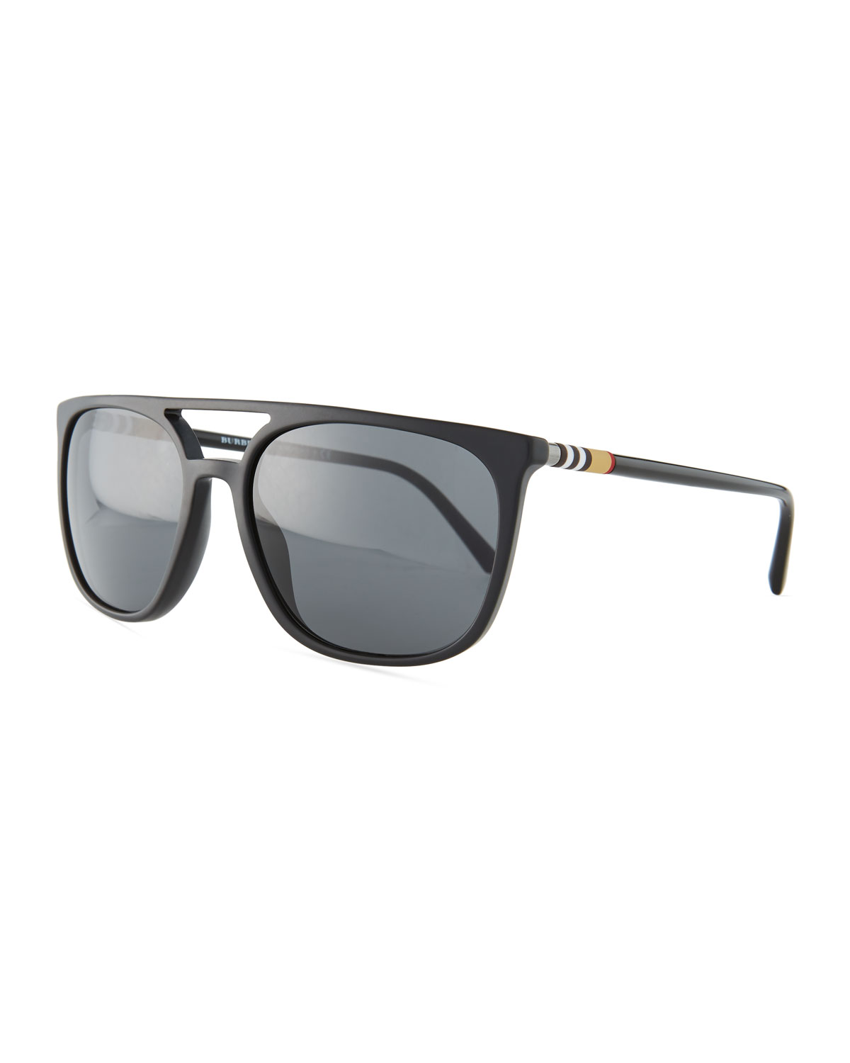 Flat-Top Square Acetate Sunglasses