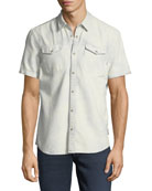 Western Cotton Short-Sleeve Shirt