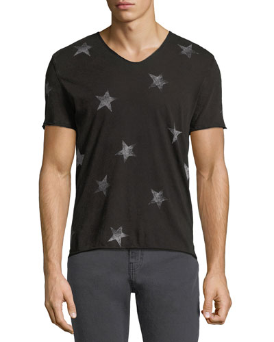 Allover Stars Graphic T-Shirt