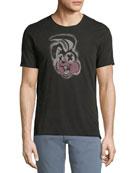 Green Day Rabbit Graphic T-Shirt