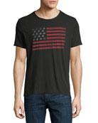 Skull Flag Graphic T-Shirt