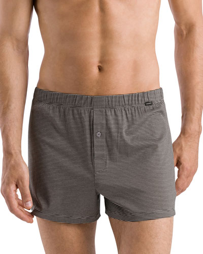 Sporty Striped Boxers