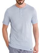 Night Day Short-Sleeve Henley Shirt