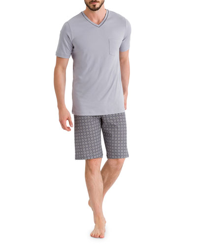 Floris Short Sleeve Pajama Set