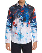 Calzada Graphic-Print Sport Shirt