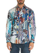 Borrego Graphic-Print Sport Shirt