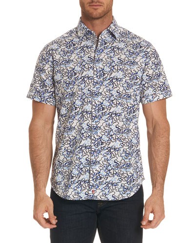 Delgado Graphic-Print Short-Sleeve Shirt