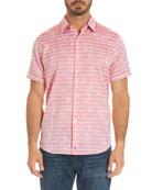 Machado Striped Short-Sleeve Shirt
