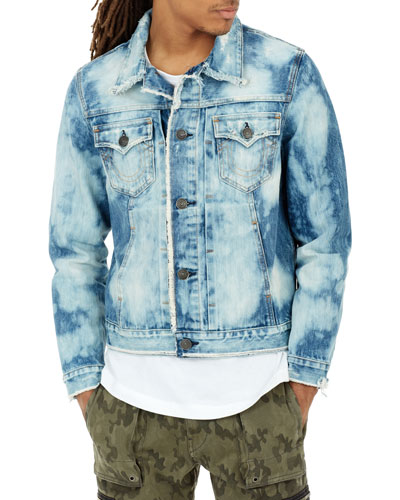 Dylan Bleached Denim Jacket