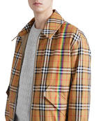 Harrington Reversible Zip-Front Coat