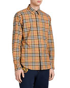 Rainbow Check Sport Shirt