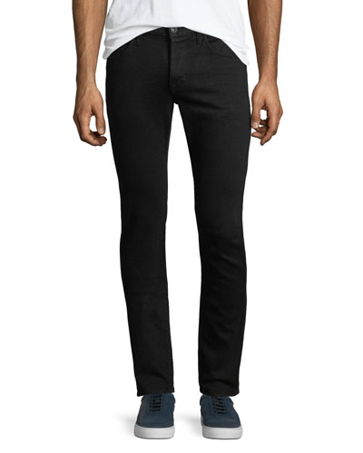 Men's Axl Stretch-Denim Skinny Jeans, Black