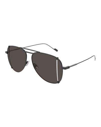 T-Cut Aviator Sunglasses