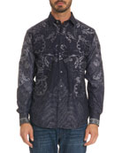 Limited Edition Paisley-Print Sport Shirt