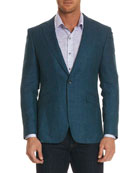 Brennan Textured Mohair-Blend Jacket