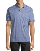 Soto Striped Polo Shirt