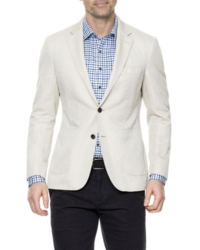 Men's Maxwell Valley Linen-Blend Blazer