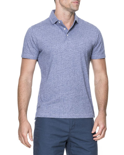 Parkhurst Striped Cotton Polo Shirt