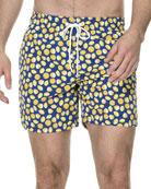 Drift Bay Lemons Swim Trunks