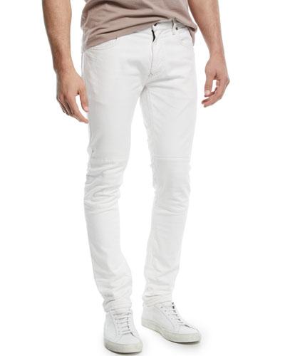 Tattenhall Skinny Moto Jeans