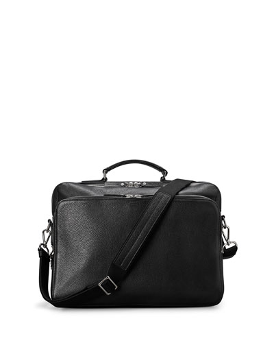 Canfield Luxe Grain Leather Briefcase