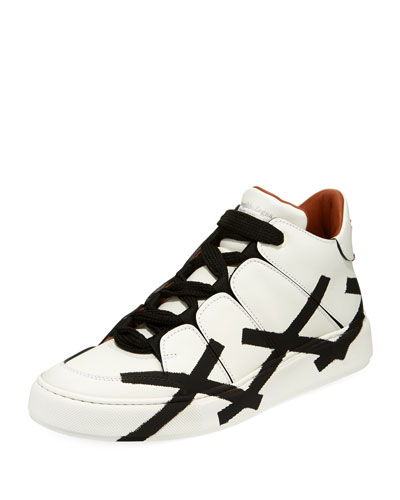 Tiziano Men's High-Top Leather Sneaker