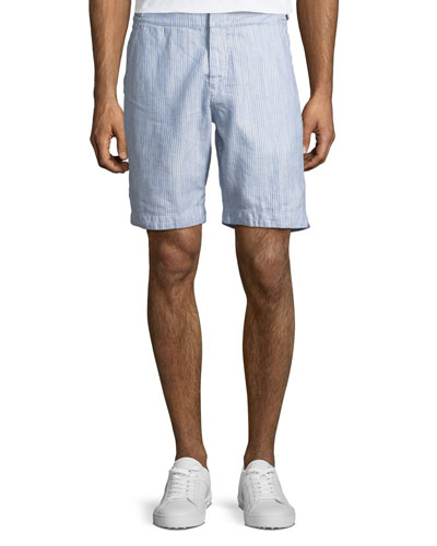 Dane II Striped Twill Shorts