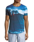 """""""Dropping In"""" Photographic-Print T-Shirt"""