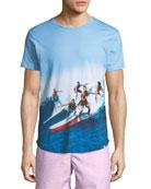 """Swell Guys"" Photographic-Print T-Shirt"