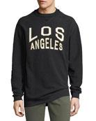 Oversized Reversible Los Angeles Sweatshirt
