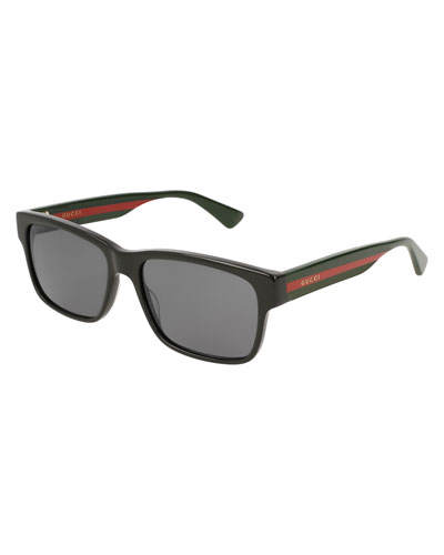 36666f4c510 Quick Look. Gucci · Square Acetate Sunglasses ...