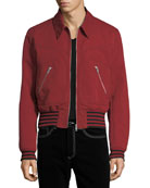 Givenchy Linen-Blend Bomber Jacket and Matching Items &