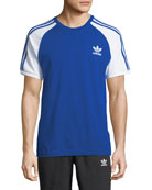 3-Stripes Raglan-Sleeve T-Shirt