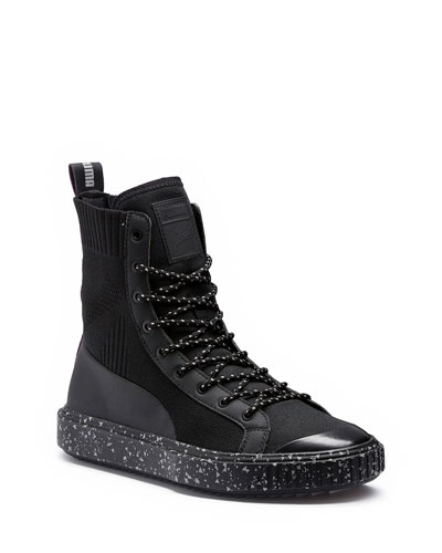X-Naturel High-Top Sock Boot