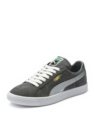 Clyde Suede Platform Low-Top Sneaker