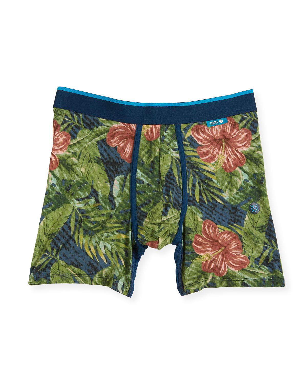 Jungle Floral Wholester Boxer Briefs