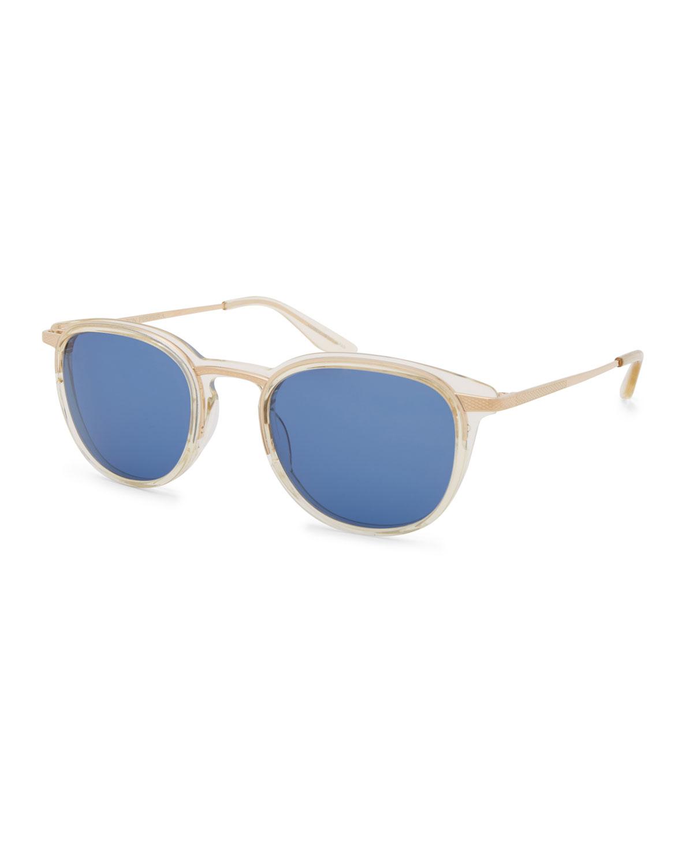 Shulman Translucent Sunglasses, Champagne