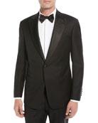 Emporio Armani Men's Super 130s Wool Two-Piece Tuxedo