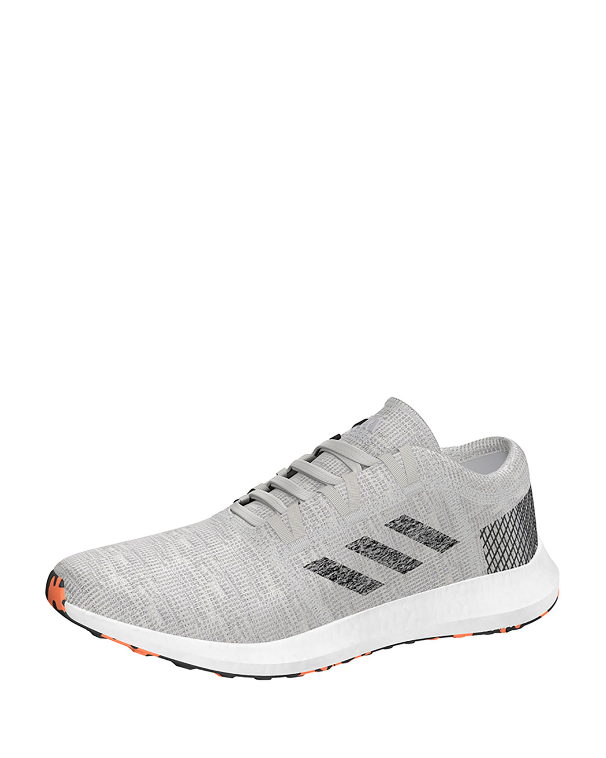 Men's PureBOOST Element Knit Trainer Sneaker, Gray