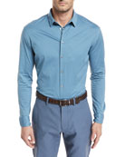 Jersey-Knit Sport Shirt