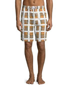 Men's Holden Graph-Check Board Shorts