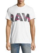 Zeabel Graphic Cotton T-Shirt, White