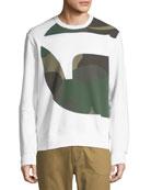 Torne Stalt Graphic-Panel Sweater