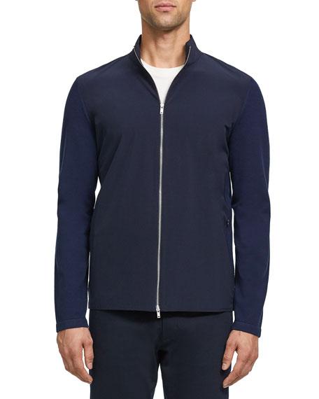 Theory Men's Bellvil Fine Bilen Sweater Jacket