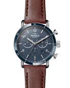 Men's 40mm Canfield Sport Watch, Brown
