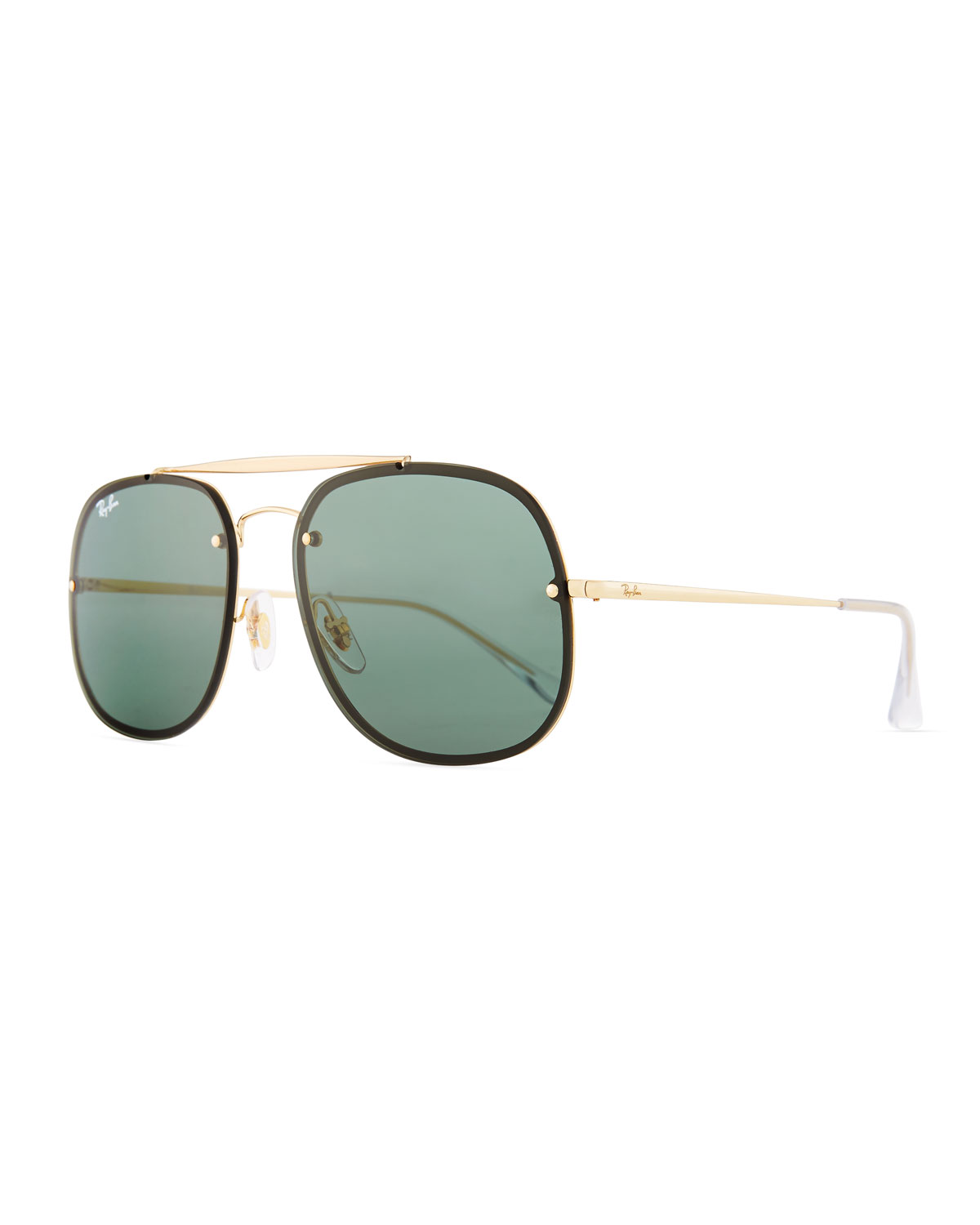 86df426807 RAY BAN Ray-Ban Blaze General Brow Bar Square Aviator Sunglasses ...